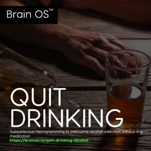 quit drinking alcohol without any medication